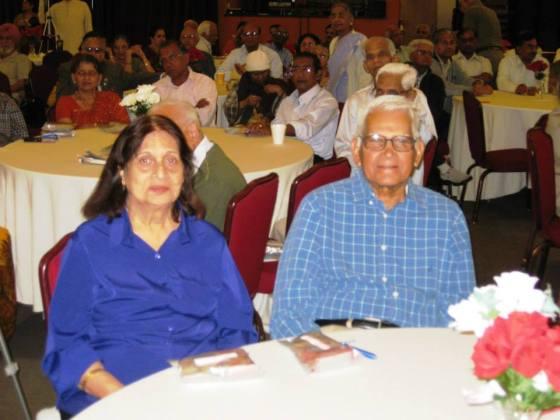 Usha and Bhagwan Shukla